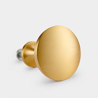 Maçaneta de porta de latão - Ouro - Cúpula