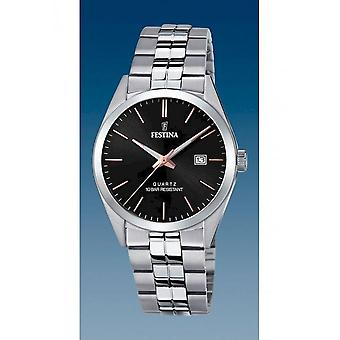 Festina - Wristwatch - Uomini - F20437/C - Steel Strap Classic