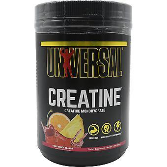 Universal Nutrition Kreatiini Powder Supplement - 85 annosta - Fruit Punch