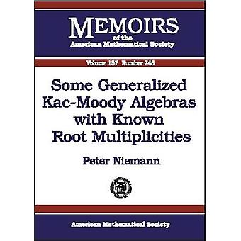 Some Generalized Kac-Moody Algebras with Known Root Multiplicities by