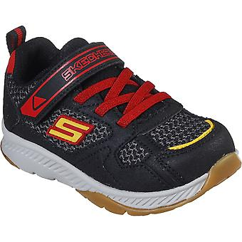 Skechers Boys Comfy Grip Slip On Sporty Trainers