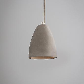 Garden Trading Millbank Small Pendant Light In Polymer Concrete