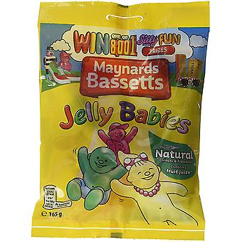 Maynards Bassetts Jelly Babies Original Sweet Treat 3 Pachete de 165g