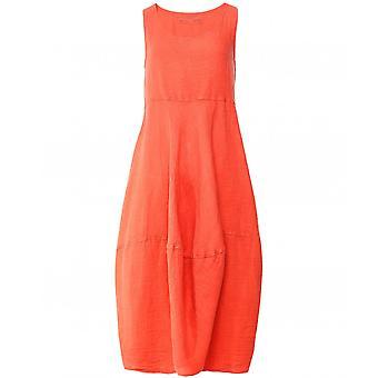 Grizas Linen Bubble Hem Dress