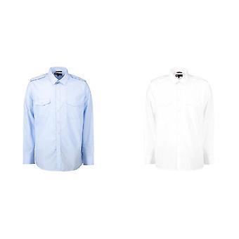 ID Herren Langarm Uniform Shirt