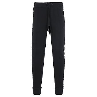 True Religion Taped Black Sweat Pants