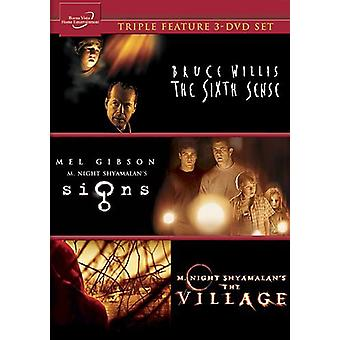 Signs/Village/Sixth Sense [DVD] USA import