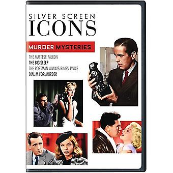 Silver Screen Icons: Murder Mysteries [DVD] USA import