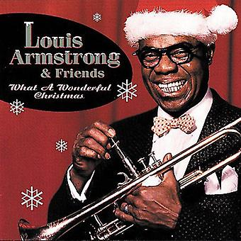 Louis Armstrong - What a Wonderful Christmas [CD] USA import