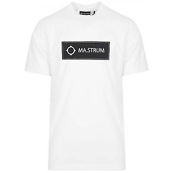 MA.STRUM White Icon Box Logo T-Shirt