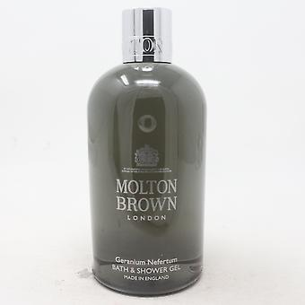 Molton Brown Geranium Nefertum Bath & Shower Gel  10oz/300ml New