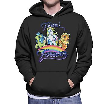 My Little Pony Friends Forever Together Men's Hooded Sweatshirt