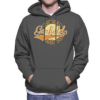 Garfield Athletics Logo Estabelecido 1978 Men 's Camisola Encapuzada