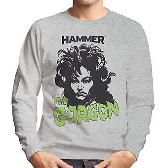 Hammer The Gorgon 1964 Poster Men es Sweatshirt