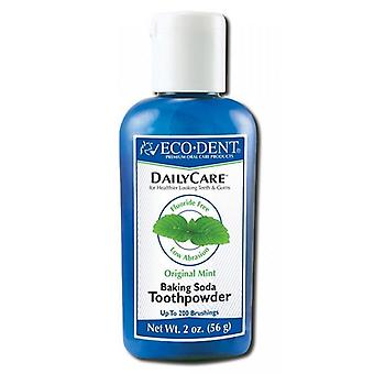 Eco-Dent Daily Care Original Mint Baking Soda Toothpowder