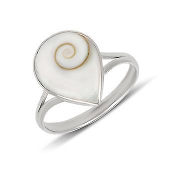 ADEN 925 Sterling Silver Shiva Eye Ring (id 62)