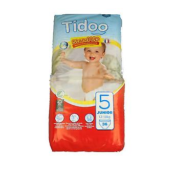Junior size learning briefs 36 units (T5 Junior (12-18 kg))