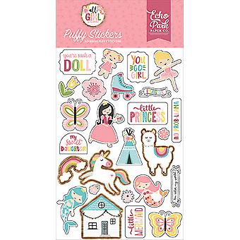Echo Park All Girl Puffy Stickers