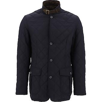 Barbour Mqu0508mquny71 Men's Blue Polyester Outerwear Jacket