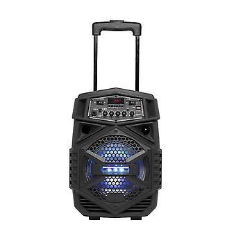 Hordozható Bluetooth hangszóró mikrofonnal Denver Electronics TSP-110 10W Néger