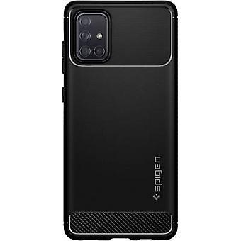 Spigen Rugged Armor Case Samsung Galaxy A71 Matt black