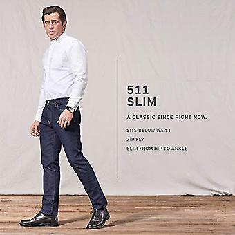 Levi's Men's 511 Slim Fit Jean's, The Frug-Advanced Stretch, 38W x 32L
