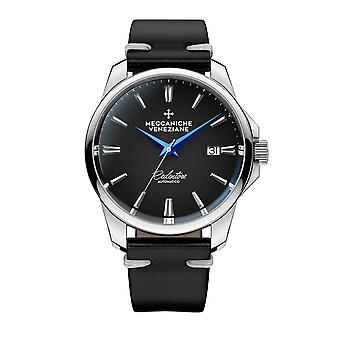 Meccaniche Veneziane 1301008 Redentore Automatic Black Dial Wristwatch