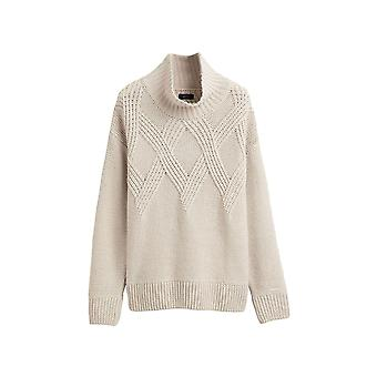 Gant Women's Long Sleeve Sweater Relaxed Fit