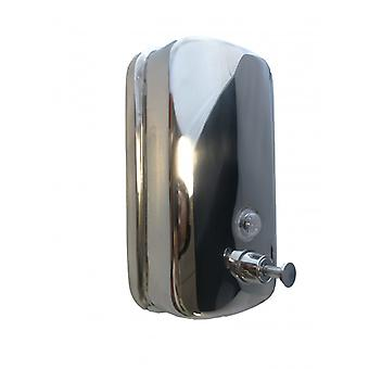 Dispensador de jabón o Igienizing A Stainless Steel Wall 1000 Ml 1 L
