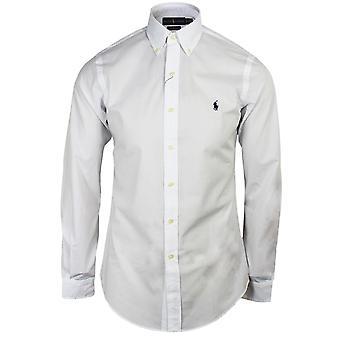 Ralph lauren men's white poplin shirt