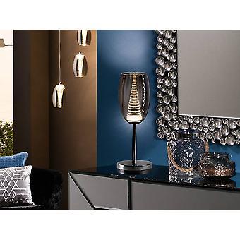 Integreret LED Crystal Bordlampe Chrome, Spejl
