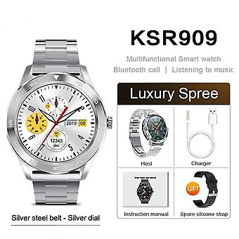 Ksr909 Smart Watch Imperméabilisation Ip68. 1.3 Écran Hd full round. Détection Ecg.
