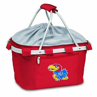 Metro Basket - Red (U Of Kansas Jayhawks) Digital Print