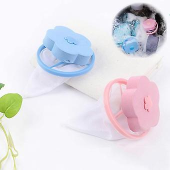 Laundry Balls Hair Removal Catcher Net Filter Washing Machine Floating Laundry Bag Clean Pads