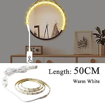 Makeup Vanity Mirror Strip Led Usb Cable 5v Dimmable Dressing Table Lamp Tape