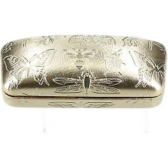 Gisela Graham Gold Insect Glasses Case