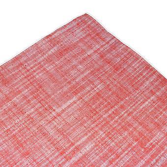 Solmio planeetta Tresanti Punainen valkoinen reuna pella liinavaatteet tasku neliö nenäliina