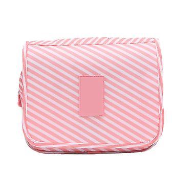Colgado bolsa de maquillaje Organizador de viajes para mujeres 24 x 9.5 x19cm