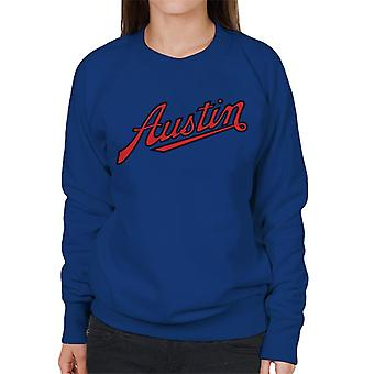 Austin Logo British Motor Heritage Women's Sudadera