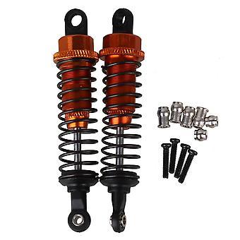 A285004OR Upgrade Parts RC 1:16 Car Shock Absorber Set of 2 Orange