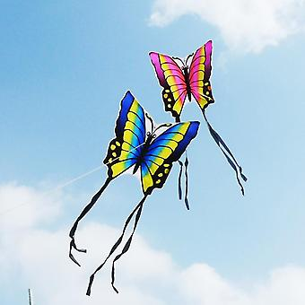 High-quality Butterfly Kite, With Handle Line, Flying Easy Control Nylon Birds