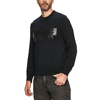 Armani Exchange 6hzm2jzmq7z1200 Men's Black Cotton Sweater