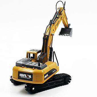 Excavator Truck Car, Die-cast Metal Construction Vehicle Model Toy