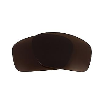 Polarized Replacement Lenses for Oakley Scalpel Sunglasses Anti-Scratch Brown