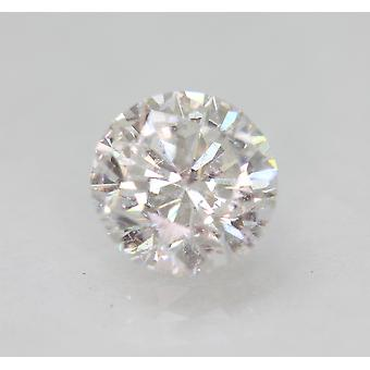 Certified 2.04 Carat D VS2 Round Brilliant Enhanced Natural Loose Diamond 7.8mm