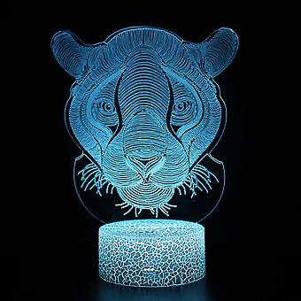 3D Touch Light Night 7 colors remote control - Animal #1276