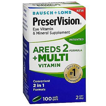 Preservision areds 2 multi-vitamins, softgels, 100 ea