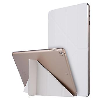 Kotelo Erittäin ohut älykäs foliokotelo Apple iPadille 9.7 2017/2018/Air/Air2 White