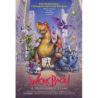 Were Back A Dinosaurs Story Movie Poster (11 x 17)