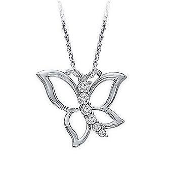 0,60 Karat Journey Butterfly Diamond Hänge
